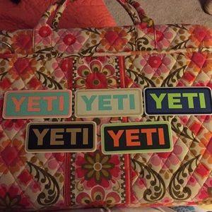 Yeti stickers (5)